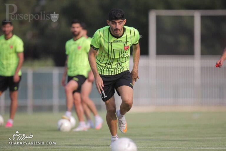 امید اول یحیی گل محمدی در بازی بزرگ
